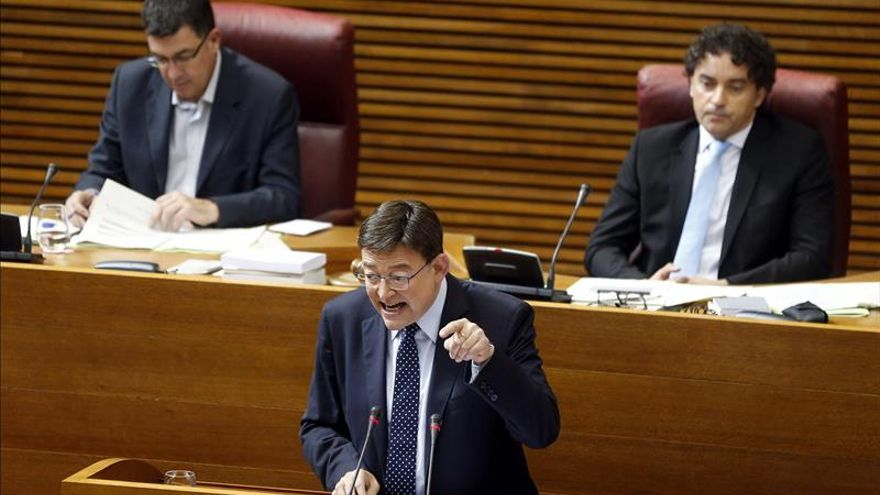 Les Corts convocan el pleno de toma de posesión de Puig el domingo a las 11