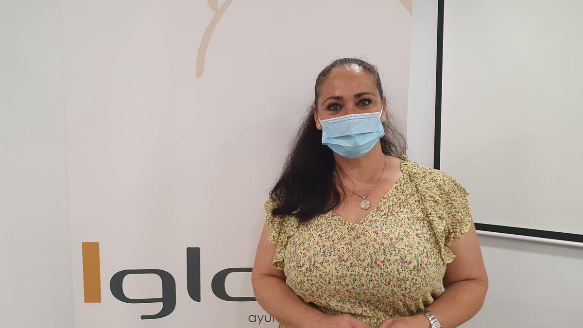 La concejala de Igualdad de Lorca, Antonia Pérez