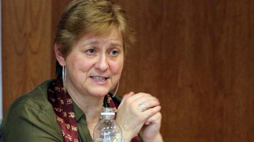 Rosa Cobo Bedia, directora del Centro de Estudios de Género y Feministas de la Universidad de A Coruña