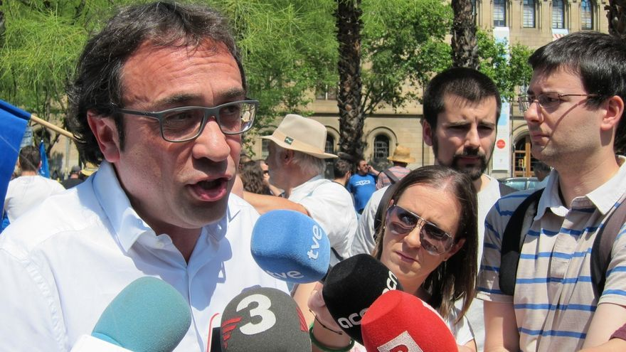 Rull dice que CDC no investirá a ningún presidente del PP y que el caso de Fernández Díaz despeja toda duda