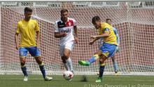 El regreso de Las Palmas Atlético a Segunda B se salda con un empate ante el Melilla