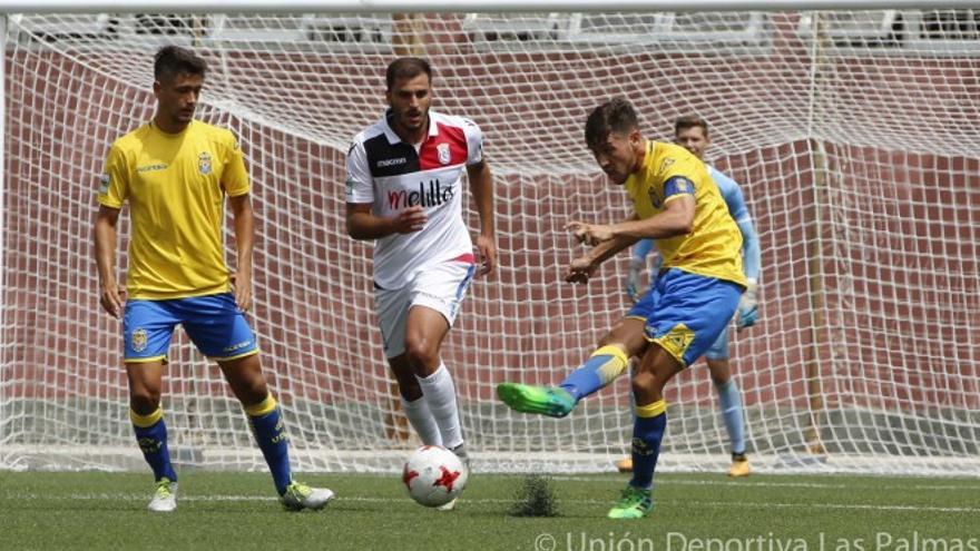 Encuentro entre Las Palmas Atlético y el Melilla
