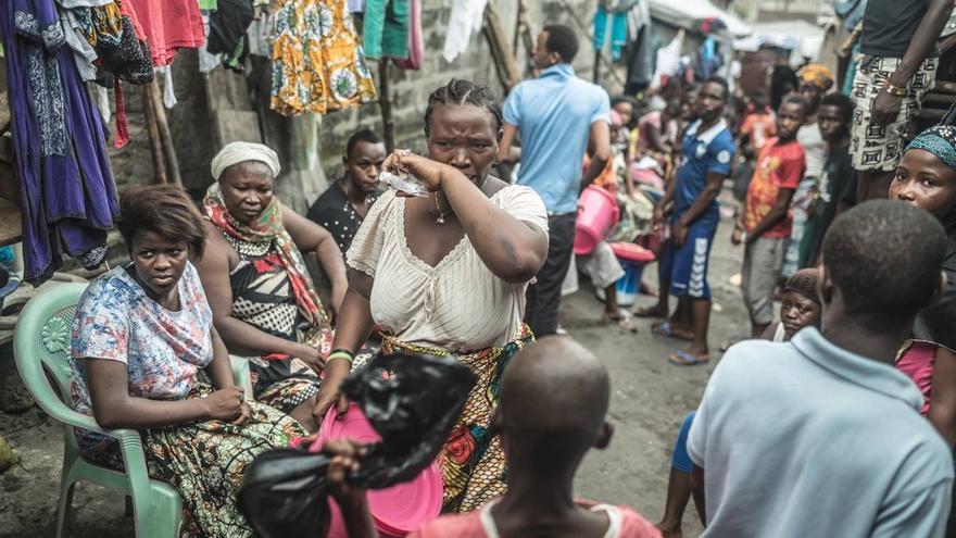 Una campaña de Oxfam Intermón sobre el ébola / Foto: Pablo Tosco / Oxfam Intermón.