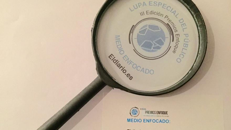 eldiario.es gana la Lupa especial del público en la III Edición de los Premios Enfoque