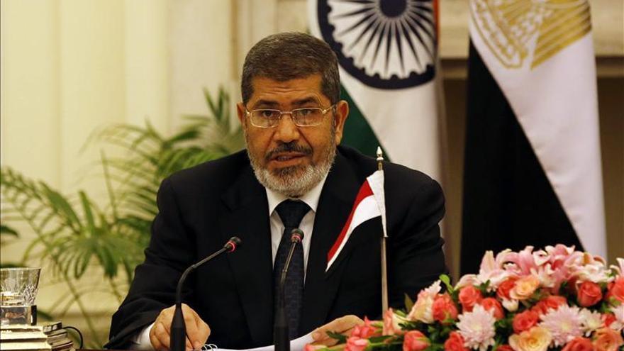 """Mursi dice que Egipto """"no permitirá la división de Siria"""""""