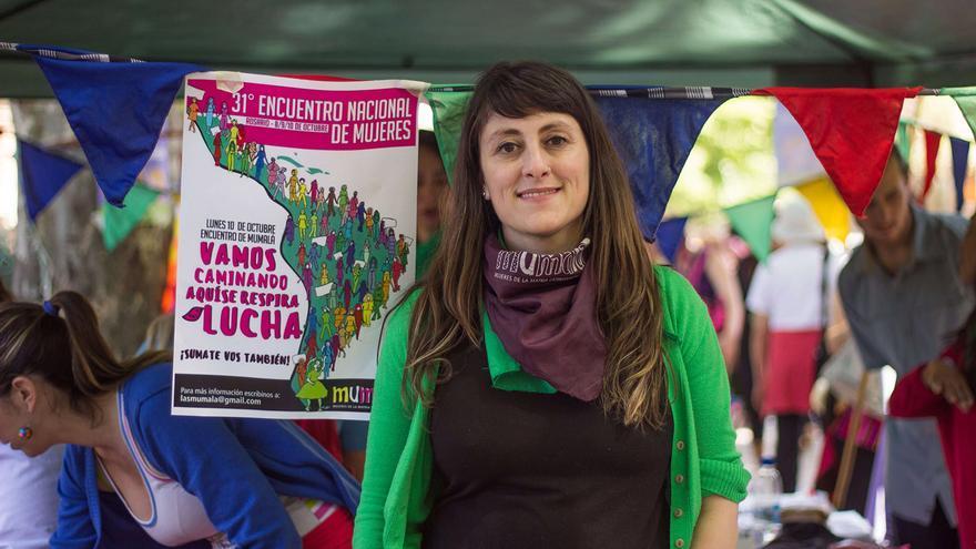 Raquel Vivanco, coordinadora nacional de 'las Mumala' de Argentina.