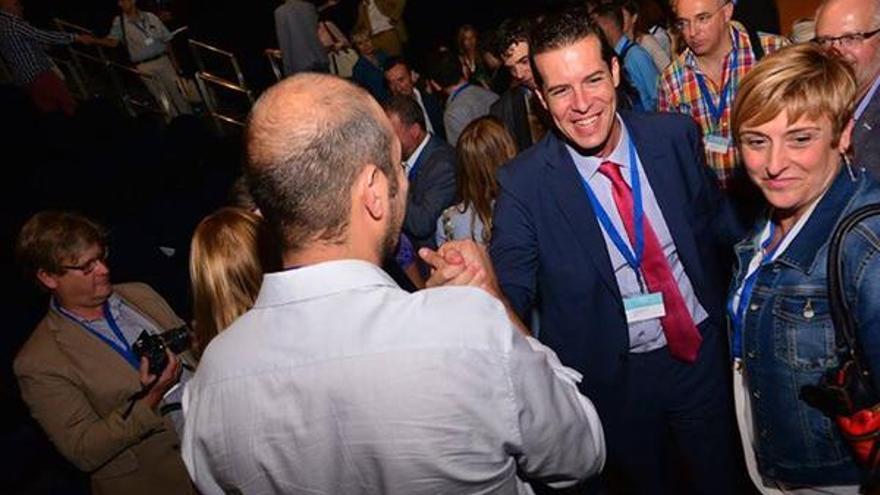 El alcalde de Elda, Rubén Alfaro, tras ser elegido presidente de la Federación Valenciana de Municipios y Provincias / @ruben_alfaro
