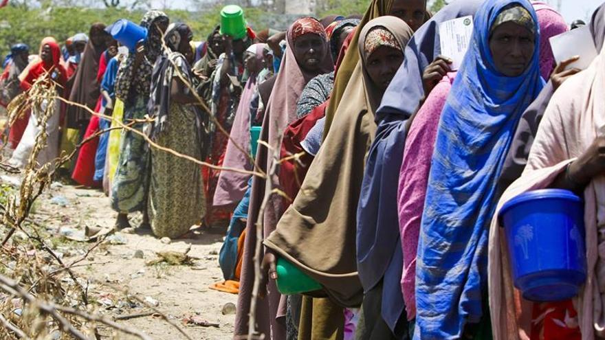 La ONU alerta de que 196 personas han muerto por la sequía en Somalia en lo que va de año