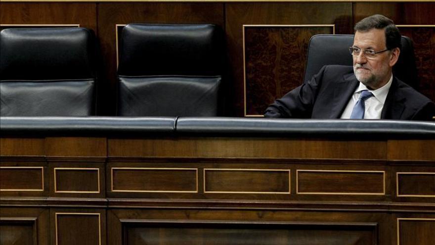 El presidente del Ejecutivo, Mariano Rajoy. / Efe