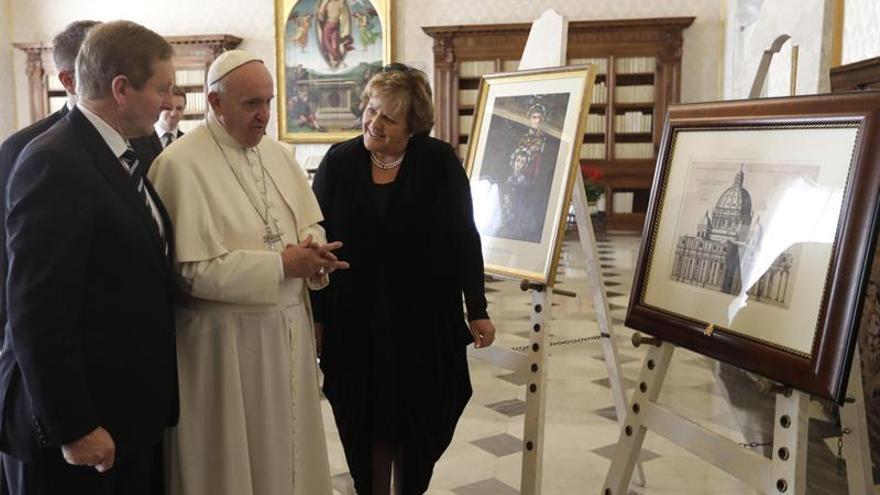 Kenny confirma que el papa Francisco visitará Irlanda en 2018