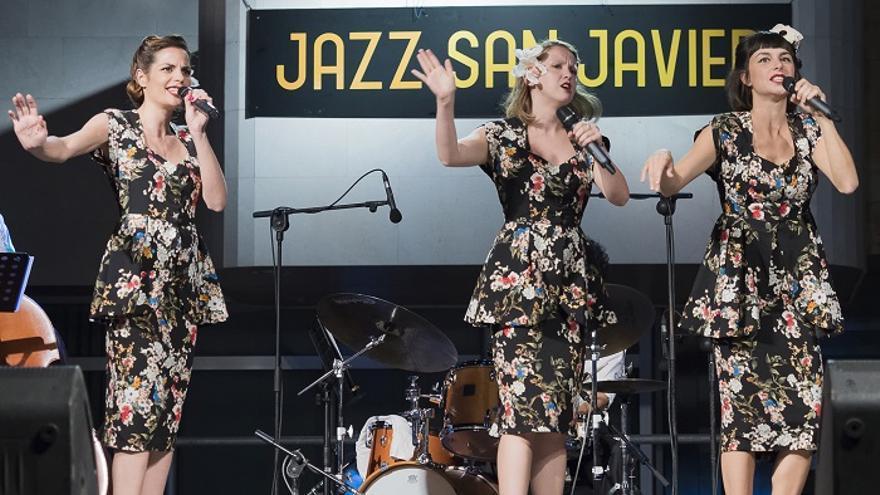 Las Dómisol Sisters & Sedajazz Swing Brothers en el Jazz San Javier