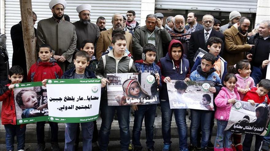 La ONU y el CICR esperan poder entrar mañana con un convoy humanitario en Madaya