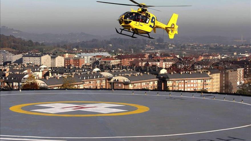 Rescatan a un montañero herido tras despeñarse en los Picos de Europa