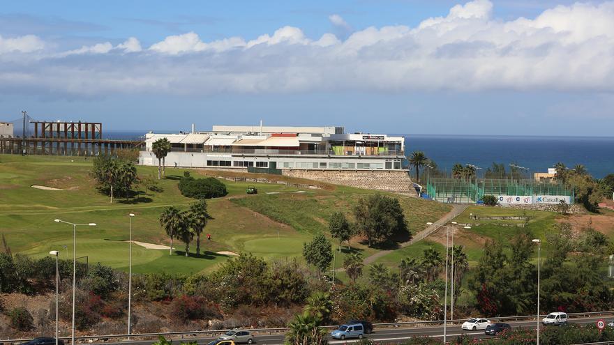 Campo de golf Las Palmeras, en el barranco de La Ballena