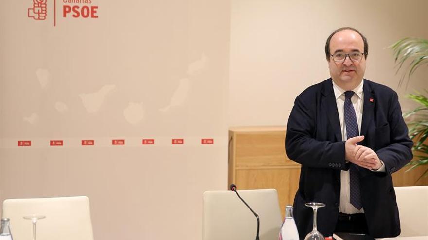 Miguel Iceta, secretario general del PSOE en Cataluña.