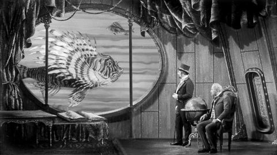 Fotograma de la película checoslovaca 'Una invención diabólica'.