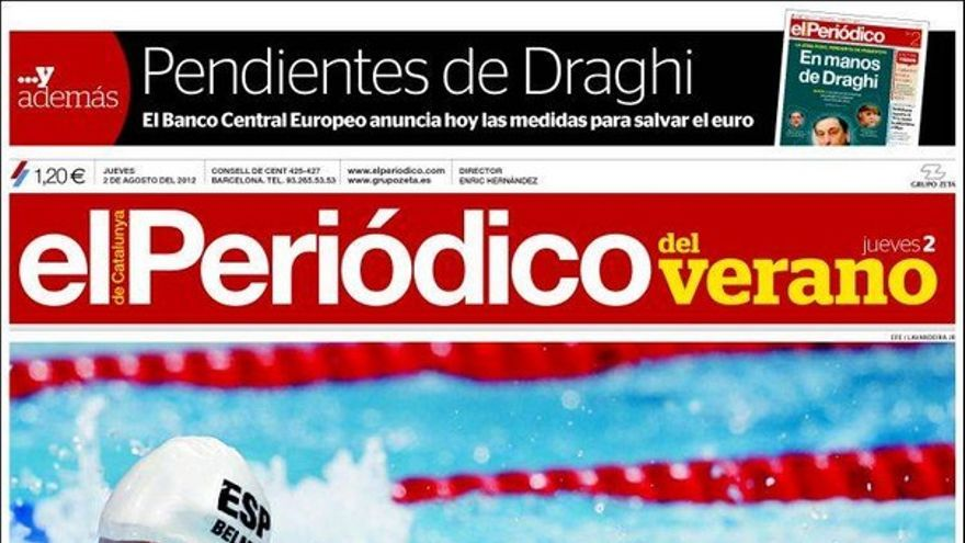 De las portadas del día (02/08/2012) #10