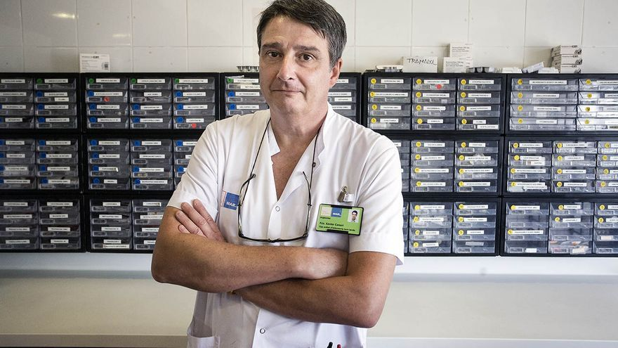 Xavi Canari, jefe de la unidad de enfermería del Hospital del Mar