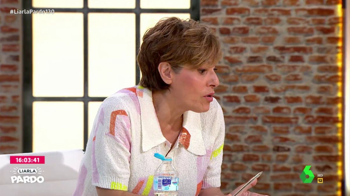 Anabel Alonso responde a la directora de la 'Chocita del loro'