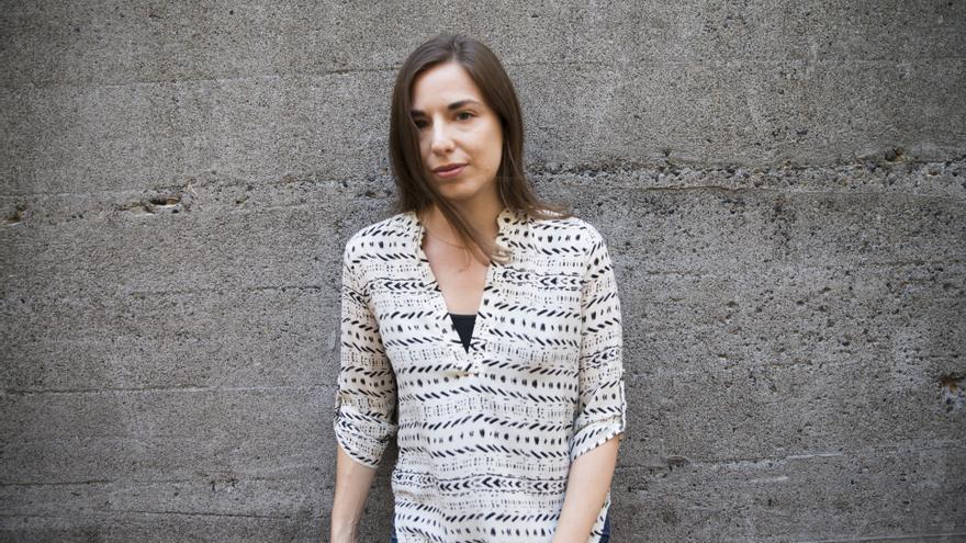 Sarah Glidden, autora del cartel del XIX Congreso de Periodismo de Huesca.