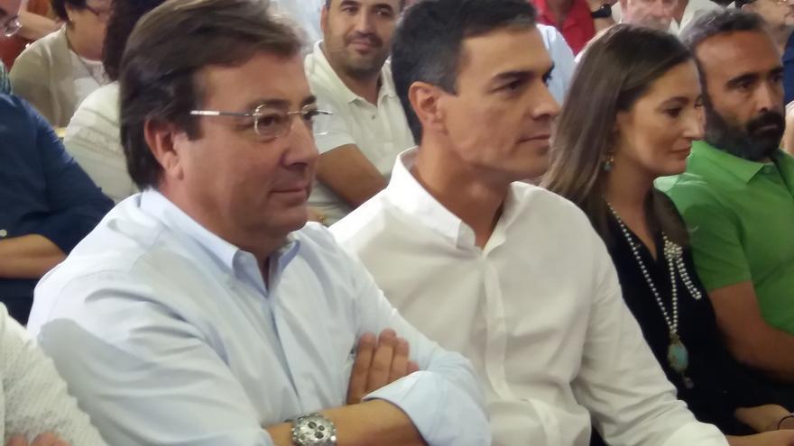 Fernández Vara se reúne este viernes con Pedro Sánchez en Mérida