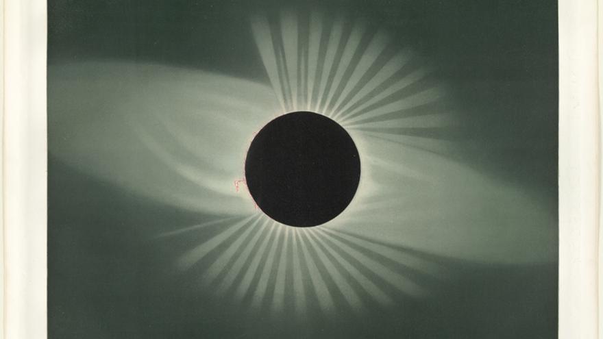 Eclipse total de Sol del 29 de julio de 1878 en Creston (Canadá)
