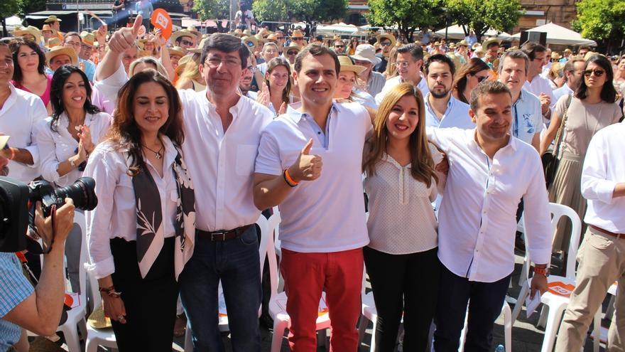 Albert Rivera ha viajado este jueves a Córdoba para participar en un encuentro con afiliados