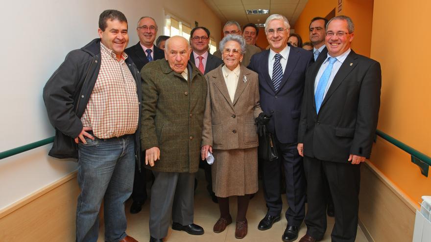 Inauguración de José María Barreda del Centro de Día de Moral de Calatrava (Ciudad Real), enero de 2011