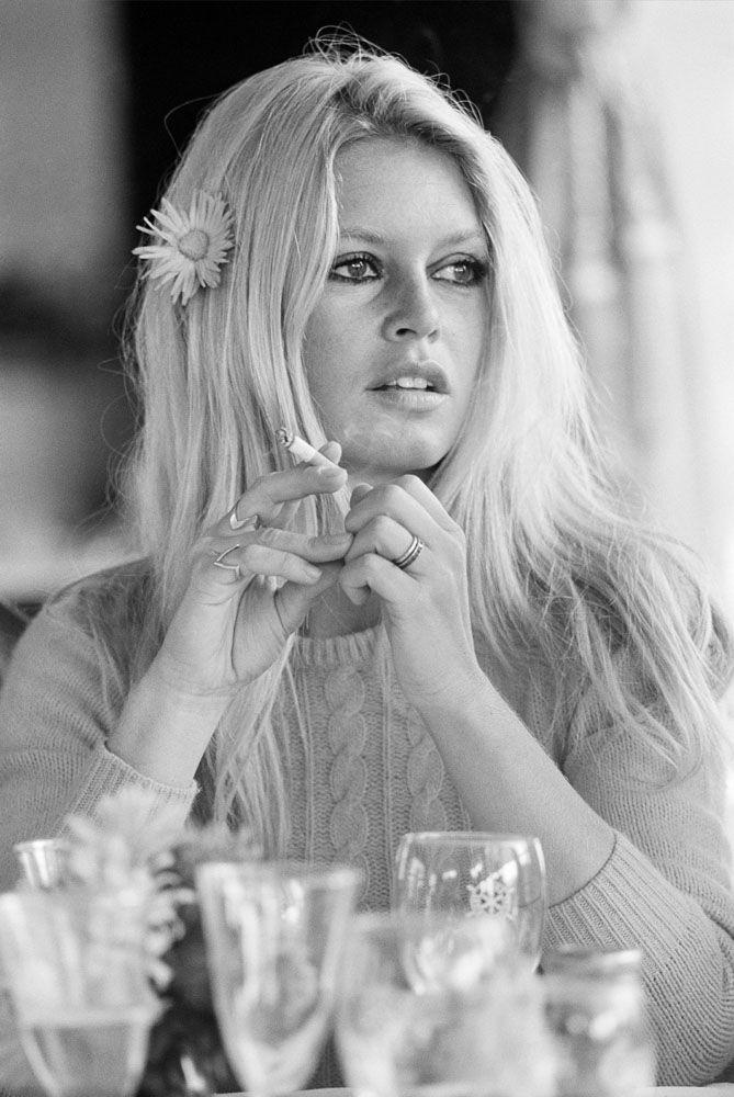Brigitte Bardot, en 1968, una de las imágenes de la muestra.