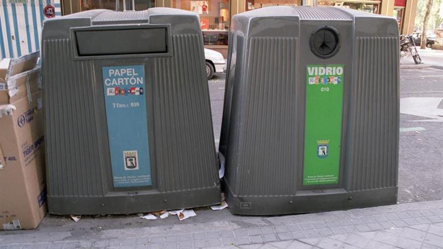 Los españoles reciclaron 1,3 millones de toneladas de envases en 2015, un 3,3 por ciento más