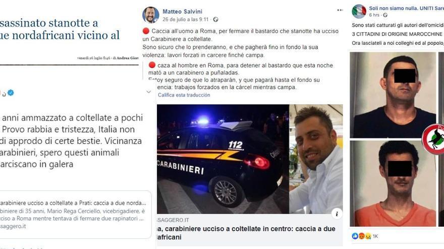 Desinformaciones en Italia