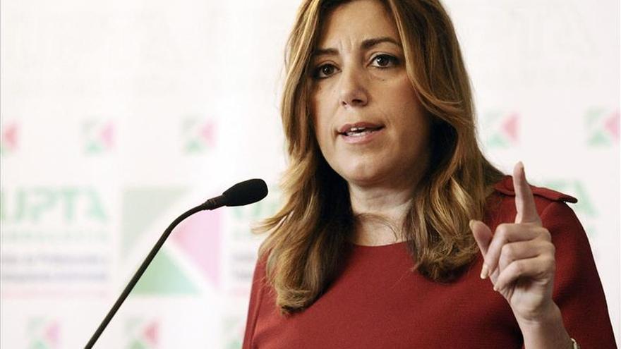 """Susana Díaz afirma que las encuestas electorales son una """"fotografía de la calle"""""""