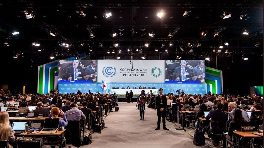 La cumbre del clima en Katowice, Polonia