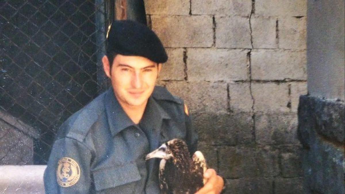 El agente del Seprona de la Guardia Civil de Gandía Antonio Castillo.