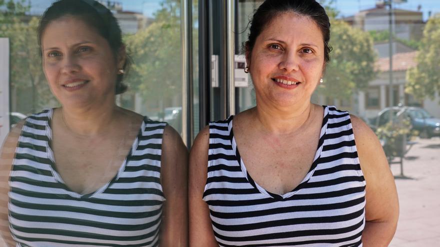 Maria Soledad Rosa, en el proyecto de Cáritas Treball amb Cor