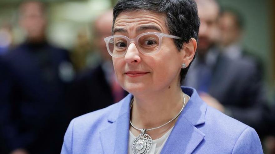 La ministra española de Asuntos Exteriores, Arancha González Laya.