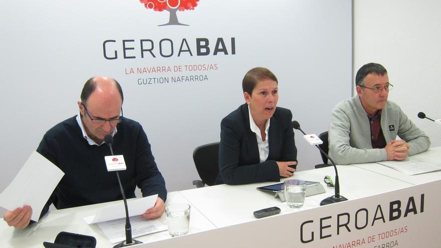 """Geroa Bai dice que UPN """"no ha sabido encarar los retos"""" de Navarra en 2014 y ve el cambio """"más necesario que nunca"""""""
