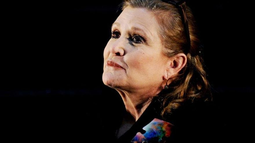 "Muere Carrie Fisher, la inolvidable princesa Leia de ""Star Wars"""