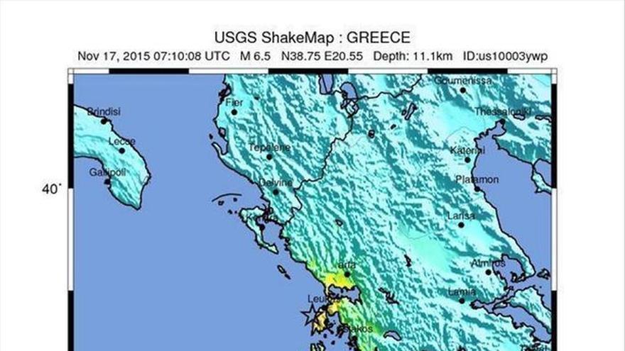 Un terremoto en la isla griega de Lefkada deja al menos 2 muertos y 4 heridos