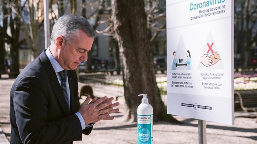 Urkullu dice que el Gobierno Vasco seguirá utilizando todas sus capacidades