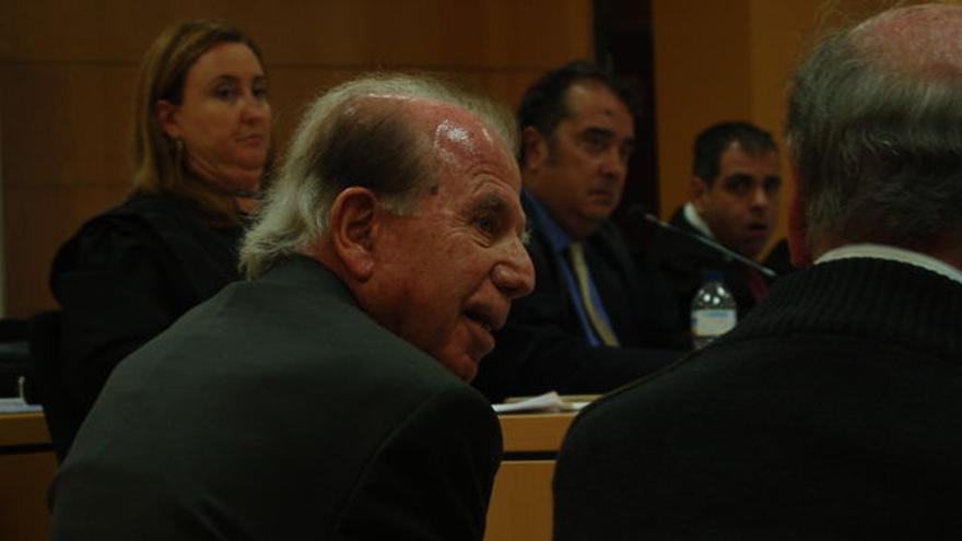 Mauricio Hayek, en la vista oral del caso ya juzgado