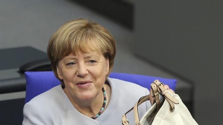 La mayoría de los alemanes apoya un cuarto mandato de Merkel, según una encuesta