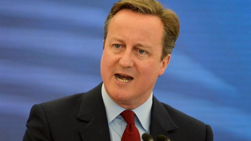 Cameron preside su última reunión del Gobierno británico