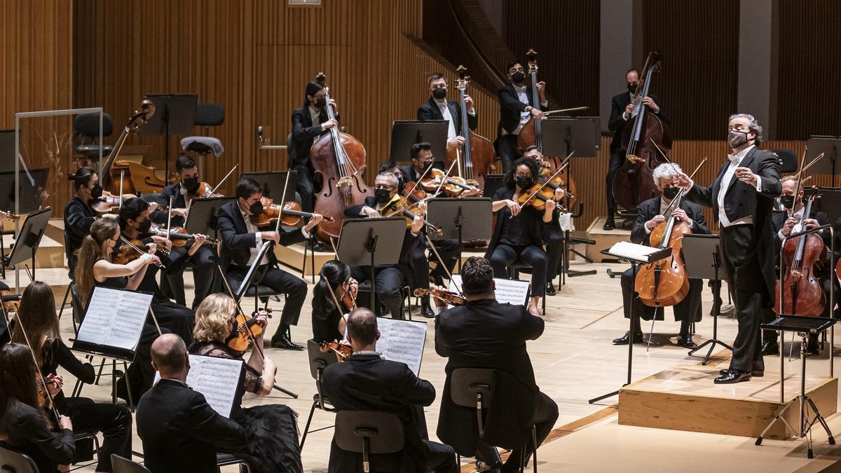 L'Orquestra de la Comunitat Valenciana.