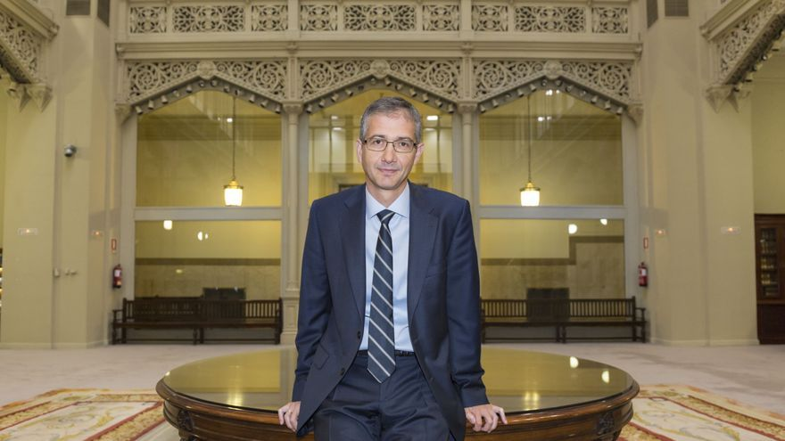Pablo Hernández de Cos, director general de Economía y Estadística del Banco de España.