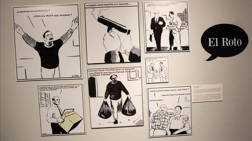 """De Hitler a """"Black Berry López"""", un repaso al humor gráfico en El Salvador"""