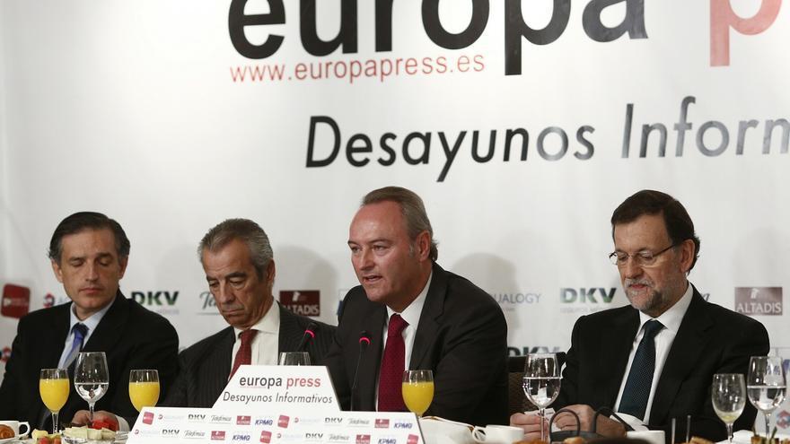 Fabra insiste ante Rajoy en pedir un nuevo modelo de financiación y rechaza acuerdos bilaterales con Cataluña