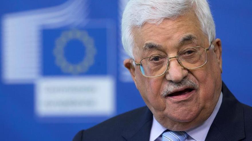 El presidente palestino, Mahmud Abás, llega a Ankara en una visita oficial