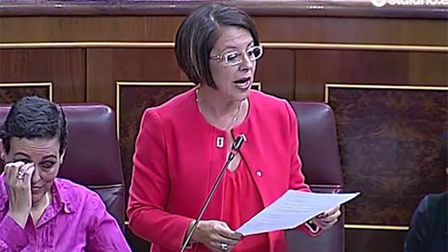 La diputada del Partido Socialista en el Congreso, Sofía Hernanz.