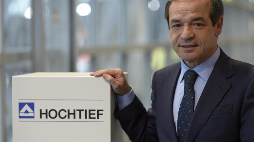 ACS se dispara un 4,73 por ciento tras aprobar Hochtief la venta de aeropuertos